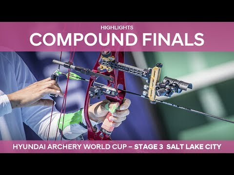 Compound Highlights | Salt Lake City 2017 Hyundai Archery World Cup stage 3