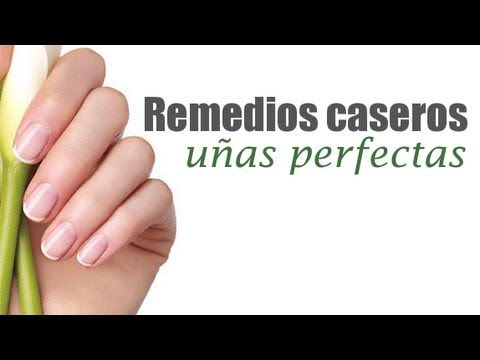 Remedios caseros para tener unas uñas sanas y bonitas