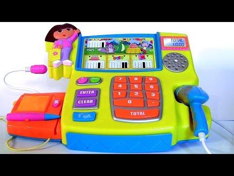 Dora The Explorer Talking Cash Register Toy In English