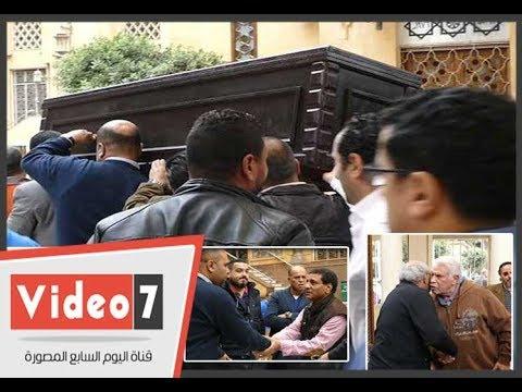 نجوم الرياضة يشيعون جثمان -أحمد رفعت- نجم الزمالك  - 17:22-2017 / 12 / 13