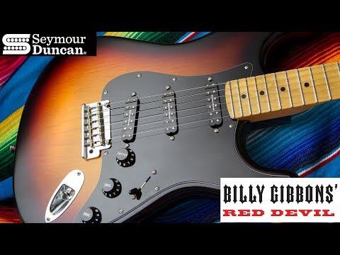 Billy Gibbons Red Devil Pickups | Seymour Duncan