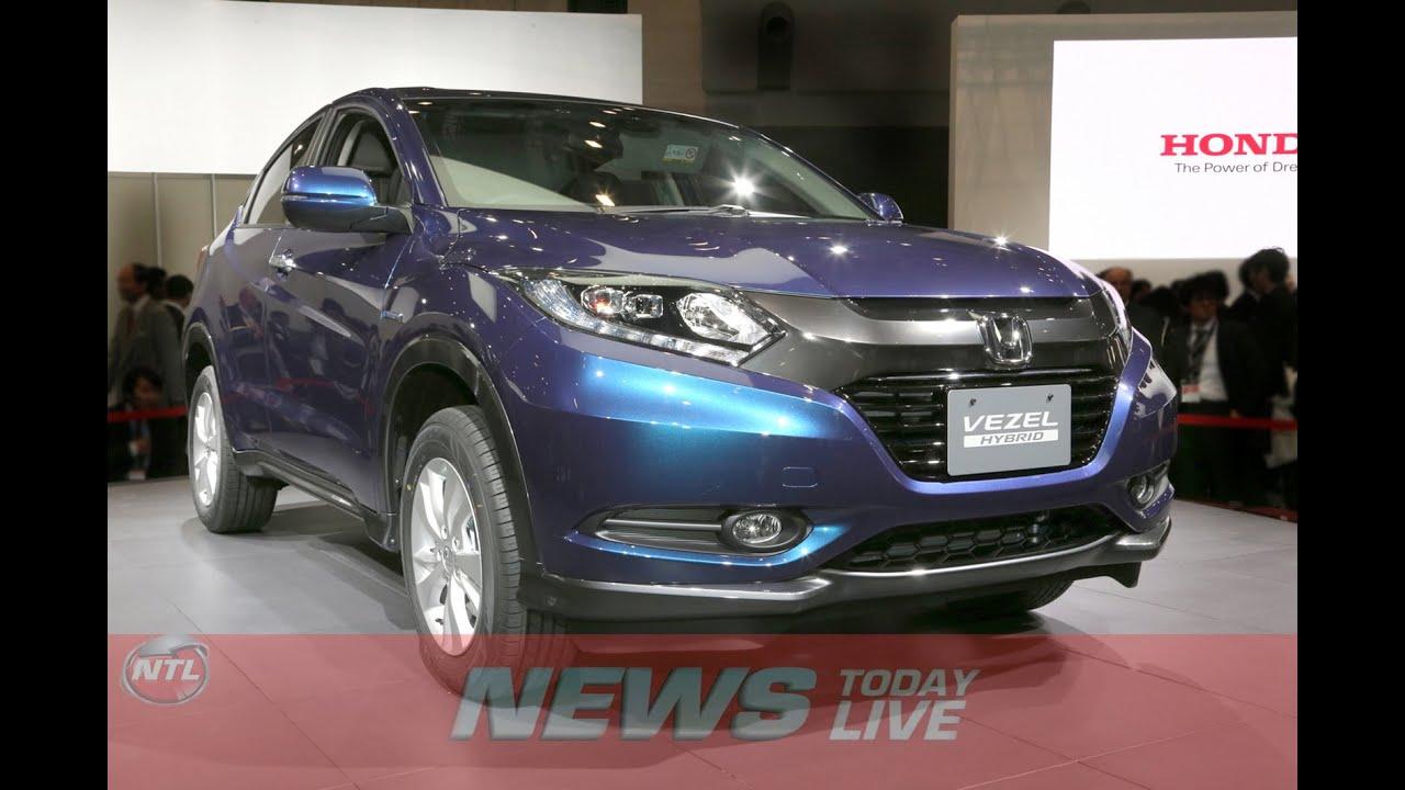 Honda Vezel Compact Suv India First Looks Youtube