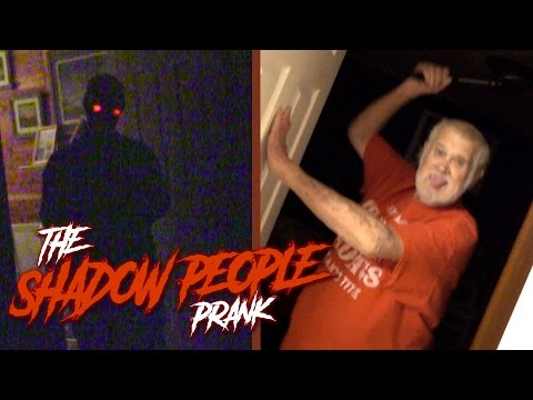 THE SHADOW PEOPLE PRANK!!
