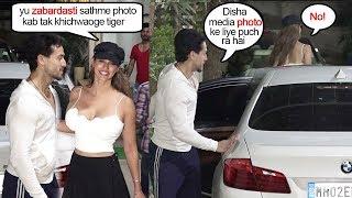 Tiger Shroff's Gf Disha Patani's Sh0cking ATTITUDE When Cameraman Asks For Their Photo Together