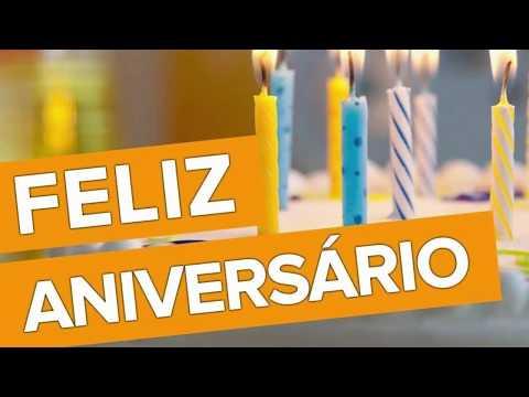 Video Mensagem de Aniversário para Amigo que a Felicidade faça Parte de Sua Vida