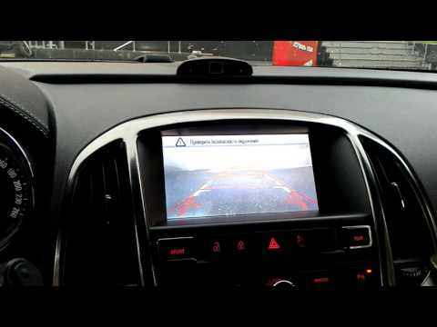 работа видеоинтерфейса Opel Astra J