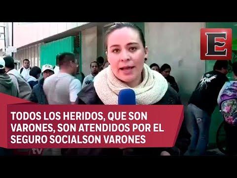 Atienden a ocho heridos en la Magdalena de las Salinas por explosión de ducto