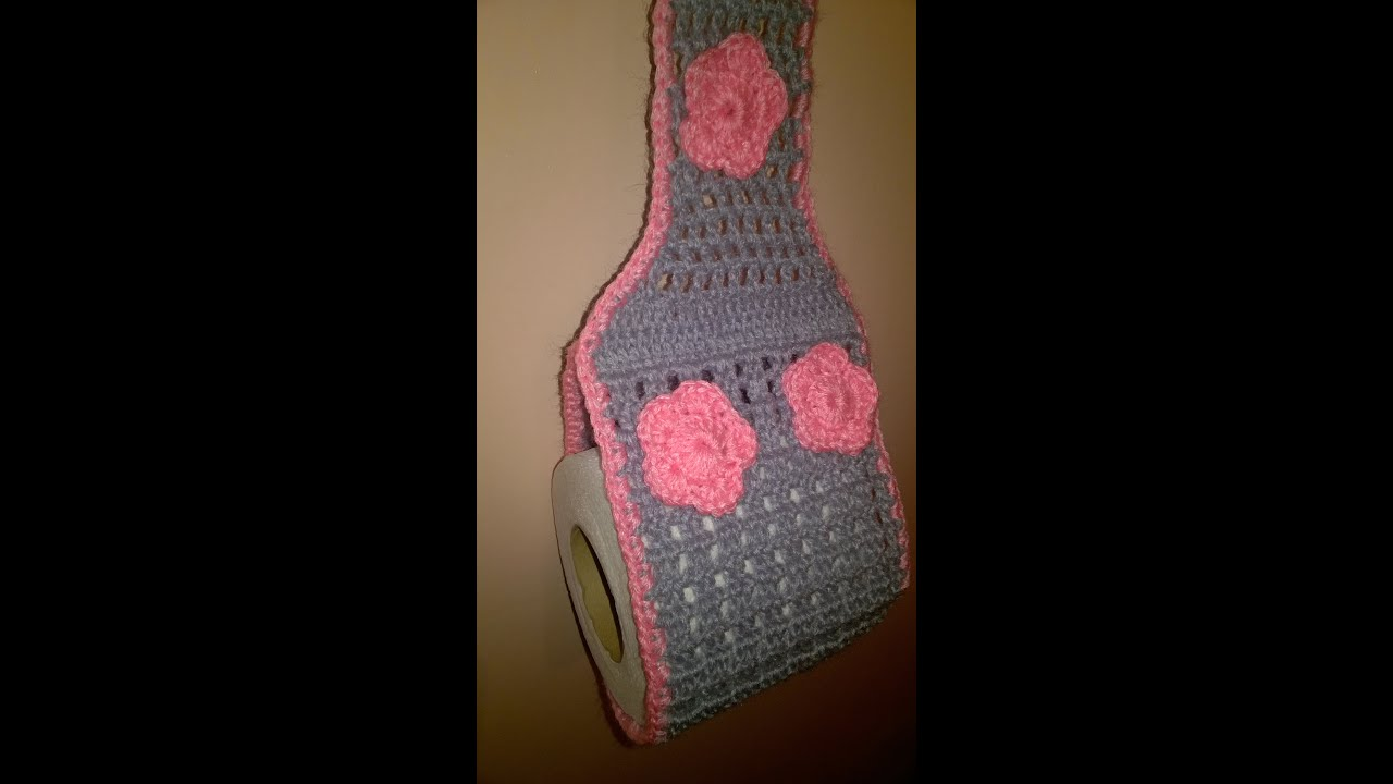 Diy toilet paper holder crochted porte papier hygi 232 nique