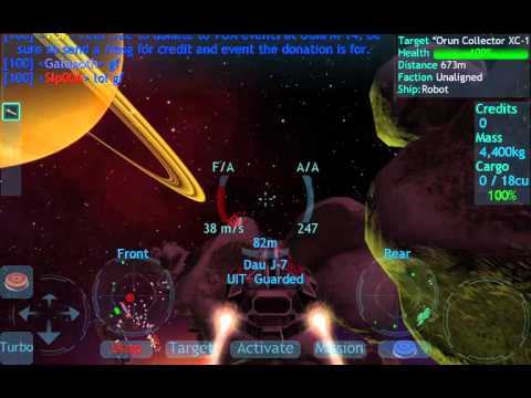 Vendetta Online (3D Space MMO) - Android gameplay GamePlayTV