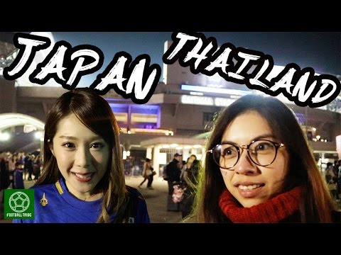 [2017.03.28 WCQ Japan vs. Thailand] Asami interviews supporters at Saitama Stadium!
