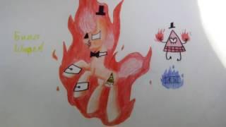 обзор на мои рисунки и рисунки Альбины