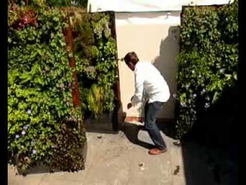 Movable Vertical Garden Planter By Maximize Design Youtube