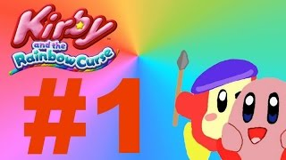 Kirby and the Rainbow Curse: Co-op Playthrough Part 1