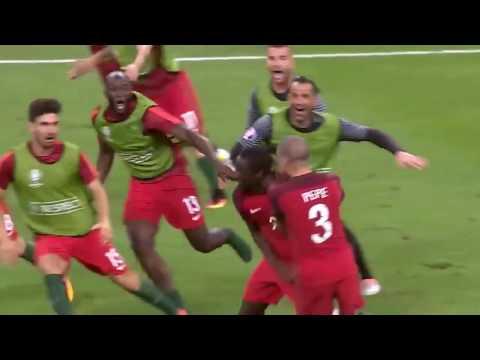Gol histórico de Eder pela seleção portuguesa