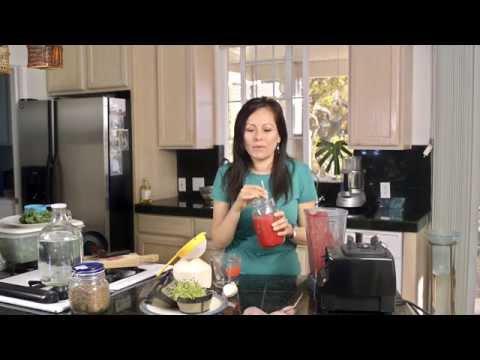 Licuado Para Anemia #1 - Con Betabel o Remolacha y Como Germinar Semillas de Col Rizada (Kale)