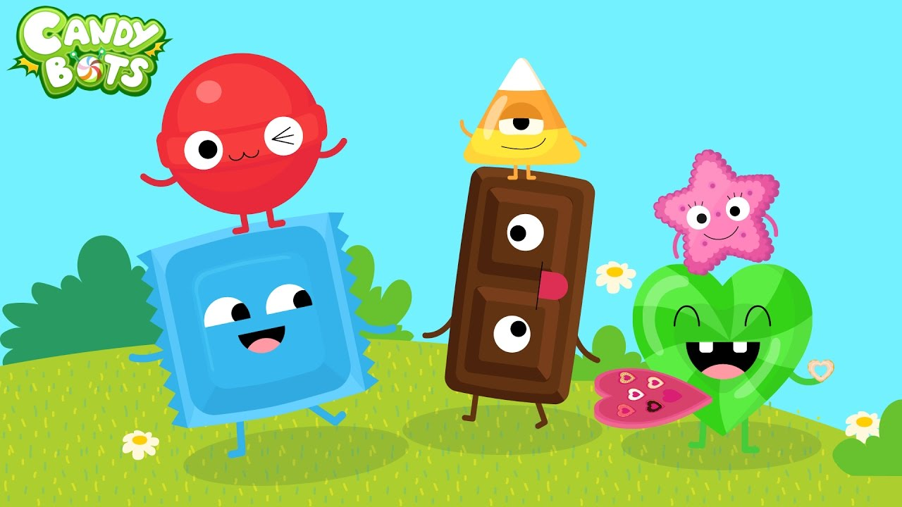 Candy shapes trailer candybots learn to draw basic Depot outlet bochum