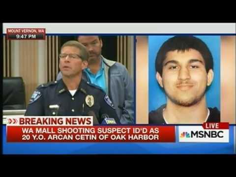 Washington Mall Shooter Caught Suspect Is 20 Year Old Turk Arcan Cetin