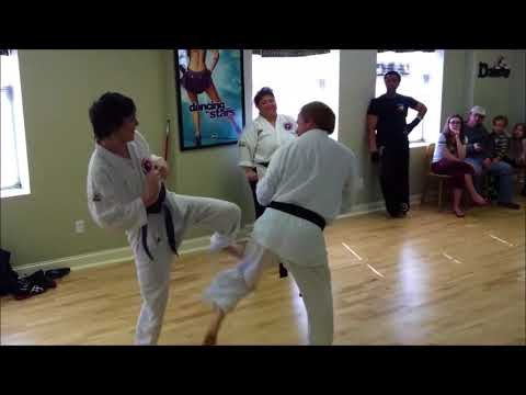 Bridges Martial Arts - RiverBend Academy Demonstration - Sparring