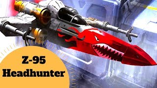 Surprising Stats of the Headhunter - Z-95 Headhunter Starfighter Lore - Star Wars Legends Explained
