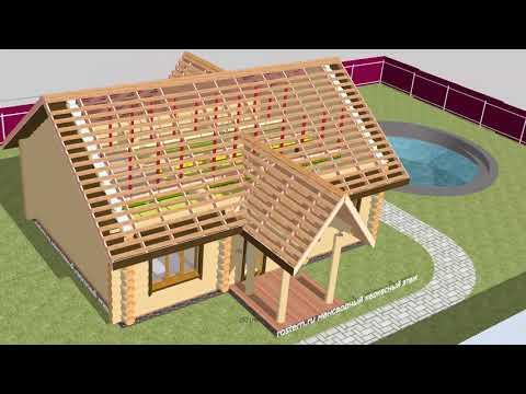 Как сэкономить 15 процентов на строительстве деревянного дома? Каркасная мансарда! #ростерн #дома