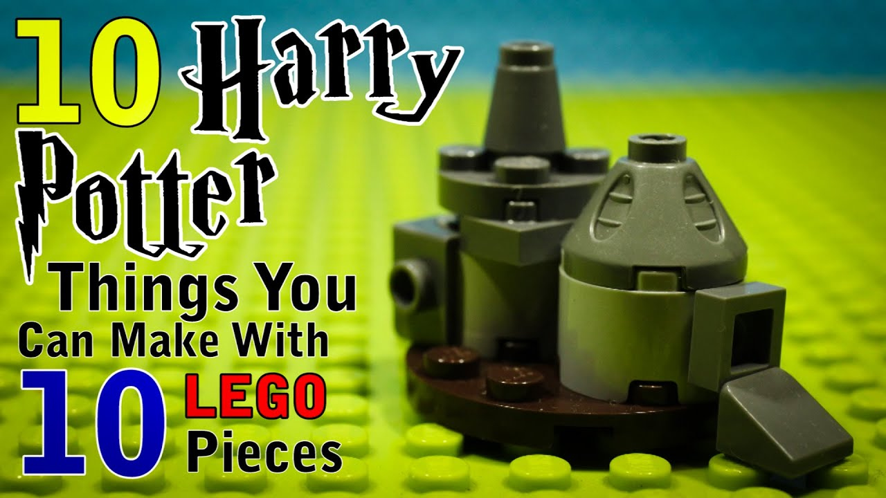 Download 10 Harry Potter Things You Can Make With 10 Lego Pieces