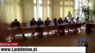 XL sesja Rady Powiatu Łaskiego