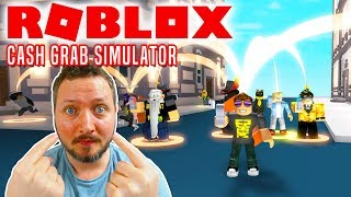 I'M IN THE GAME! -Roblox Cash Grab Simulator english