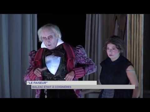 Vidéo Le Faiseur, Balzac, Renucci Tréteaux de France