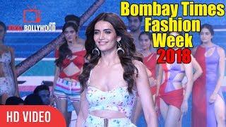 Beautiful Karishma Tanna Ramp Walk At Bombay Times Fashion Week 2018
