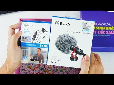 Trải nghiệm 2 mic ngon, giá rẻ  Boya BY-M1 và BOYA MM1 cho DSLR và smartphone | Box of Joy 2019
