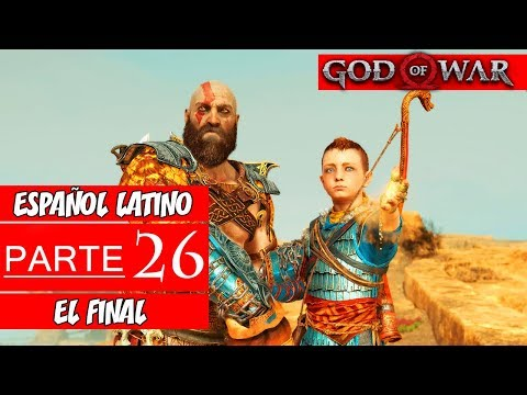 God of War PS4 | Walkthrough en Español Latino | Parte 26 Final (Sin Comentarios)
