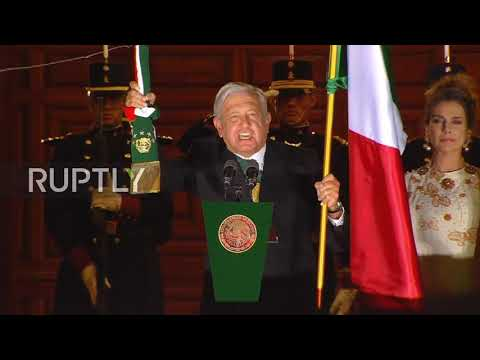 Mexico: Lopez Obrador leads Independence celebrations in Mexico City