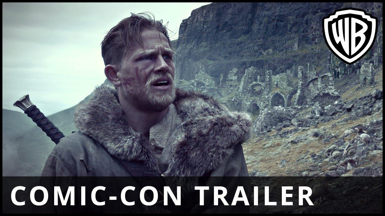 Download King Arthur: Legend of the Sword - Comic-Con Trailer