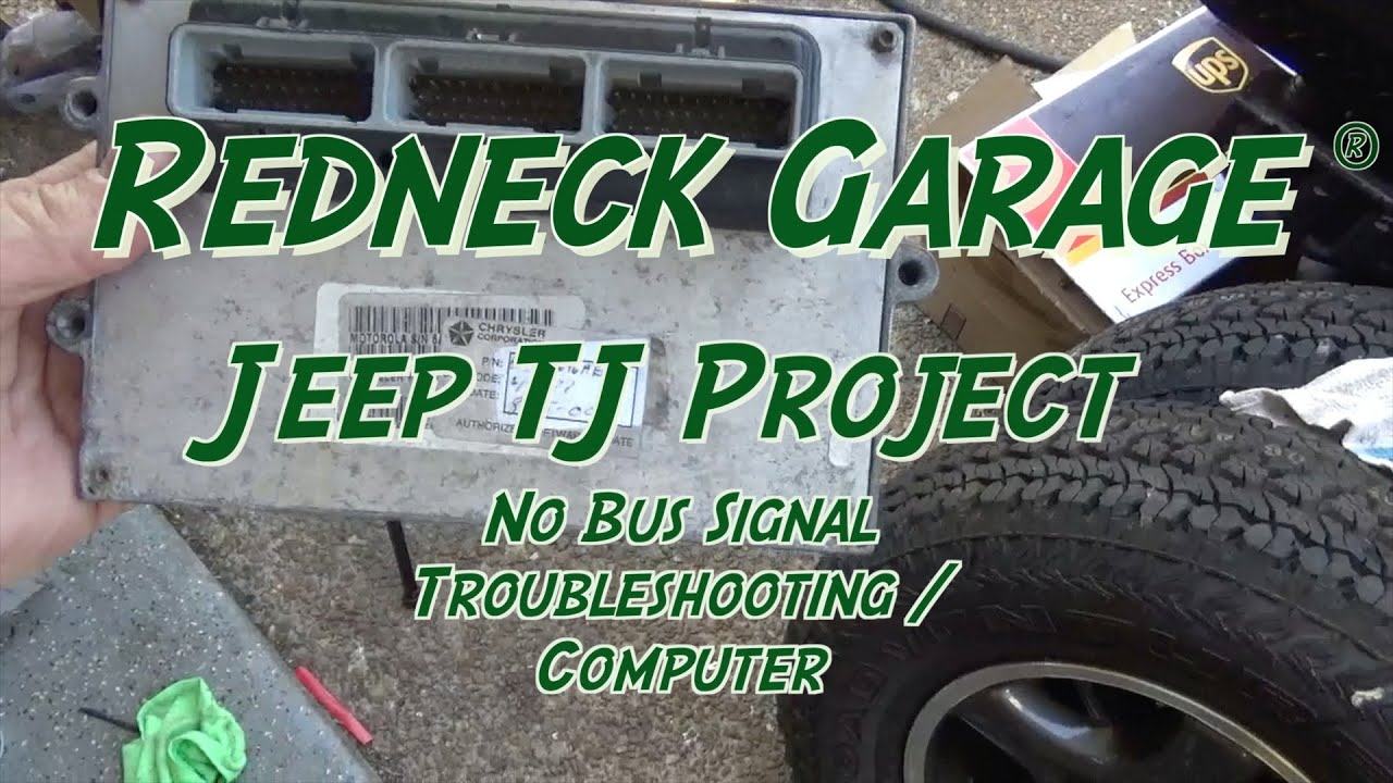 hight resolution of jeep wrangler tj project no bus issue computer troubleshooting