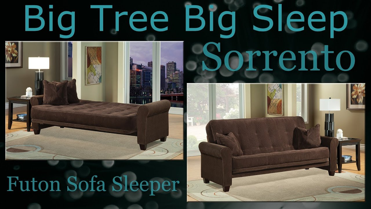 sleeper sofa assembly instructions sofacamas sorrento futon from big tree sleep