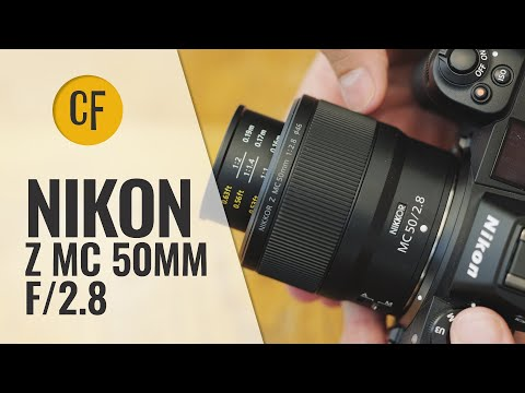 Nikon Z MC 50mm f/2.8 lens review with samples
