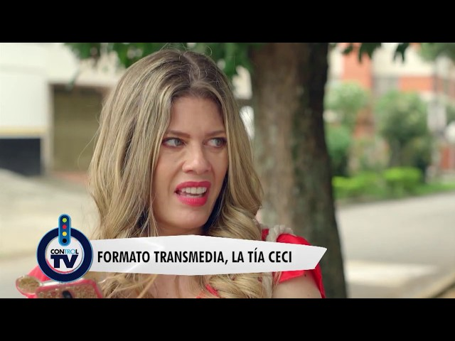 Formato Transmedia,  La Tía Ceci - Control TV