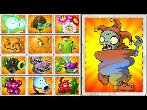 Plants vs Zombies 2 How to Defeat Jester Zombie? All New