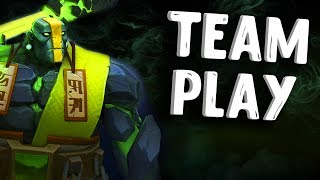 КОМАНДНАЯ ИГРА В ДОТА 2 - TEAM PLAY EARTH SPIRIT DOTA 2