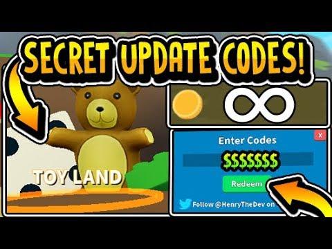 All New Secret Toy Land Update Codes 2019 Treasure Hunt