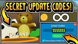 """ALL NEW SECRET TOY LAND UPDATE CODES 2019!!"" Treasure Hunt Simulator Update 2.60 1/14 (Roblox)"