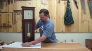 Shaker Wall Clock Part 4 Episode #25 Billy's Little Bench