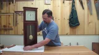 Shaker Wall Clock Part 4 Episode #25 Billy's Little Bench