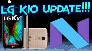 Скачать LG K10 Nougat 7 0 Update