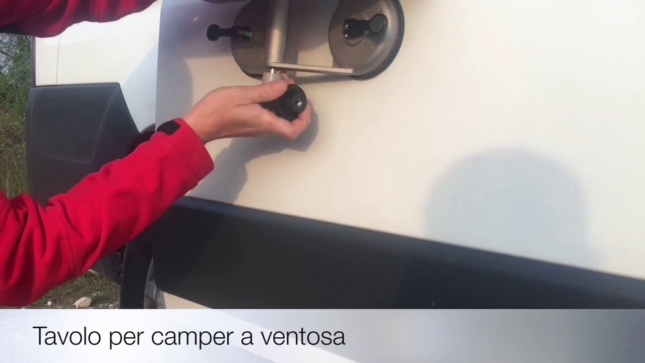 Tavoli Per Camper Allungabili.Tavolo Per Camper A Ventosa Youtube
