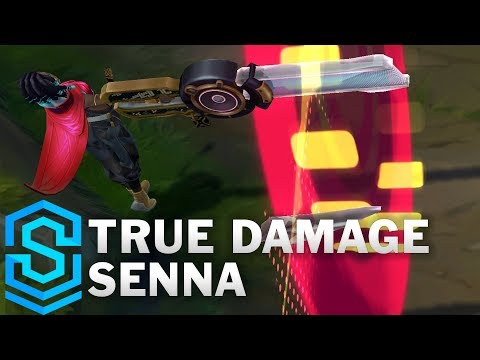 True Damage Senna Skin Spotlight - Pre-Release - League of Legends