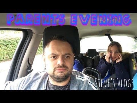 Parents evening | Daily Vlog | #stevesvlogs