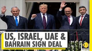 A Strategic Realignment Of West Asian Countries   Historic Abraham Accord Signed