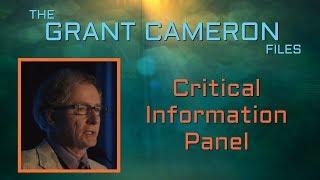 Grant Cameron   Critical Information Panel- Disclosure, TTSA