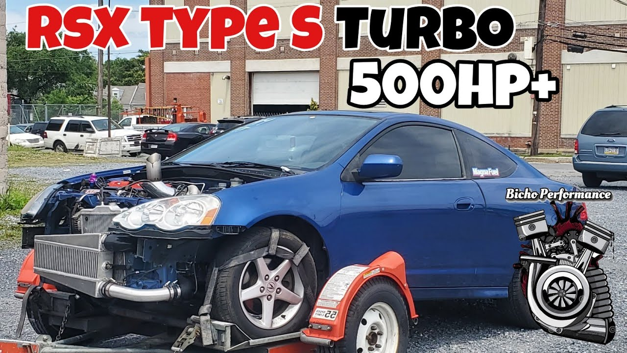 The Rsx made to the Dyno! 500hp+